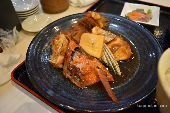 定食 馬乃米 本日の煮魚定食 あら炊き