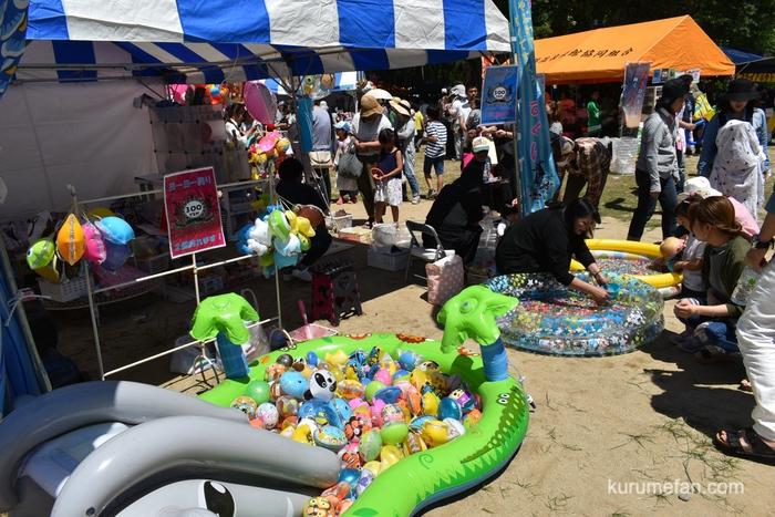 第4回 あさくら絆フェスティバル会場内 子供縁日ブース