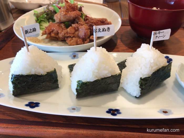 Fuku cafe おむすび銘柄