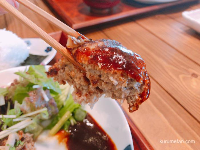 RiceBranハンバーグ ドミグラスソース