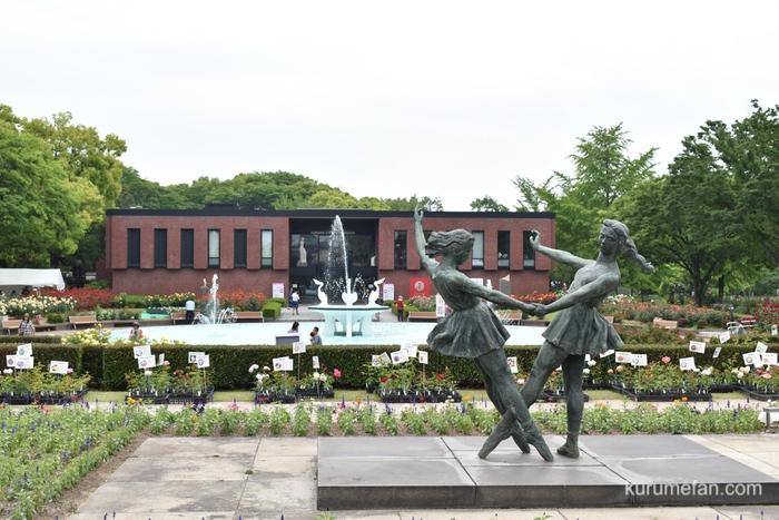 石橋文化センター園内