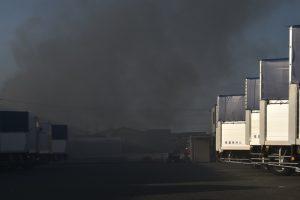 久留米市大石町 豆津橋 南東側付近で火災【火事情報】