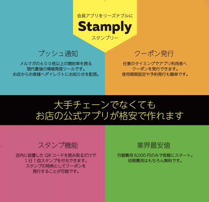 Stamply(スタンプリー)とは?