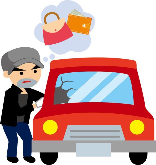 久留米市上津・山川・国分・野中町で車上ねらいが多発!貴重品を置かないよう注意!