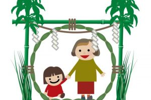 久留米市 北野天満宮夜渡祭 無病息災「茅の輪(ちのわ)くぐり」