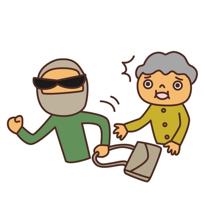 久留米市合川町で強盗事件 現金を奪い逃走