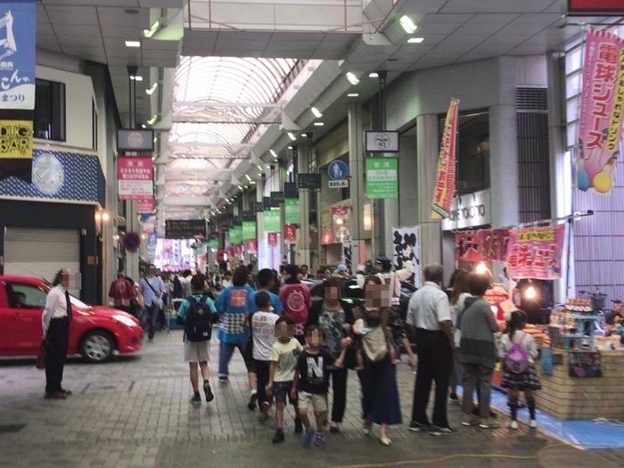 第49回 久留米ほとめき通り商店街まつり「土曜夜市」