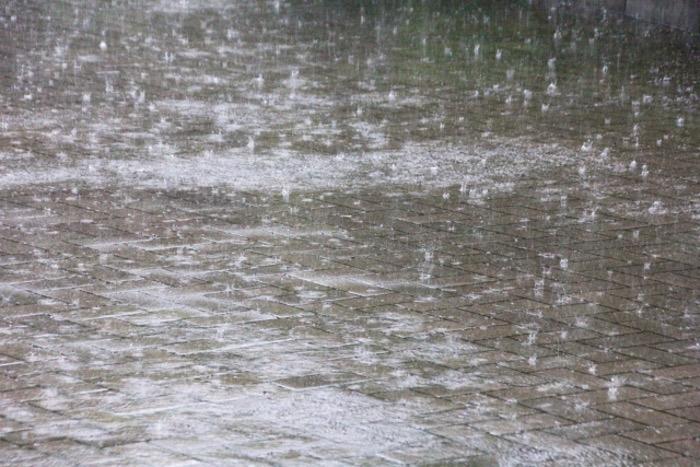 福岡県久留米市 大雨警報(土砂災害)雷,洪水注意報 雨によるダイヤの乱れ