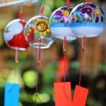 小郡市 如意輪寺 夏の大祭 かえる寺の風鈴まつり 風鈴の涼やかな音色