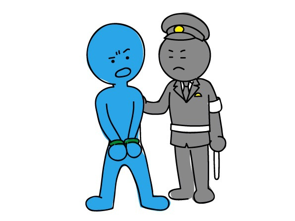 久留米警察署 女子中学生の尻を触り久留米市の会社員の男逮捕