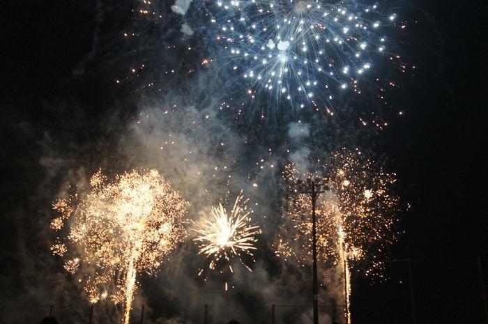 「第19回 有明海花火フェスタ」間近で見ることができる打上げ花火