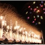 柳川市「第20回 有明海花火フェスタ」大迫力のスカイナイアガラは必見!
