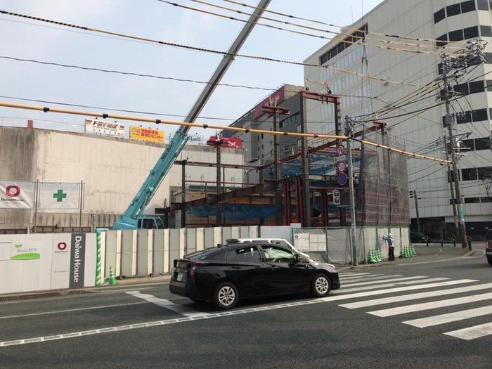 ドン・キホーテが西鉄久留米駅そばにオープンするみたい 岩田屋久留米店目の前の建設場所