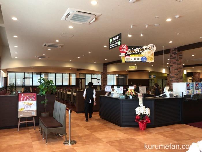 神戸クックワールドビュッフェ 久留米店 店内