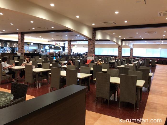 神戸クックワールドビュッフェ 久留米店 店内 テーブル席