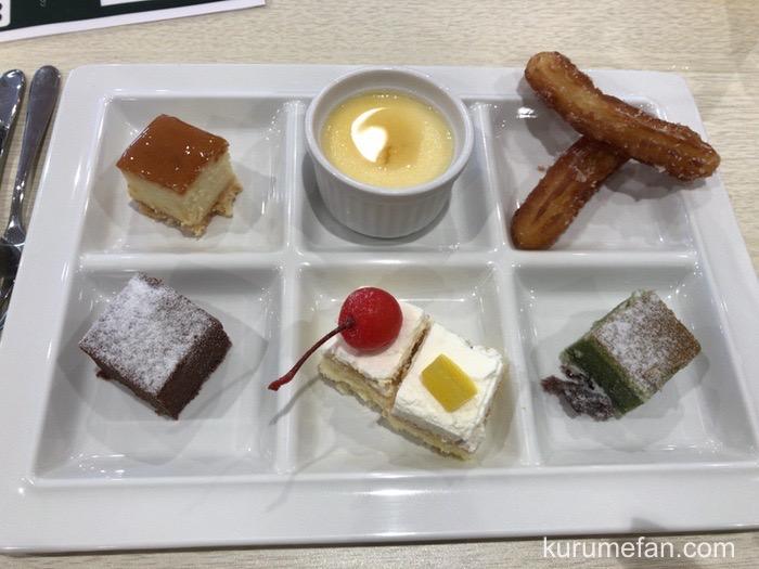 神戸クックワールドビュッフェ 久留米店 美味しいスイーツ