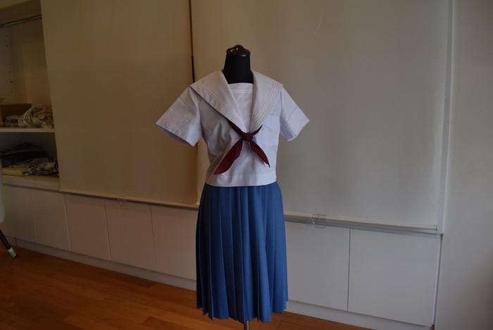 学生服専門店マルヒロ 内覧会 学生服・セーラー服 夏服