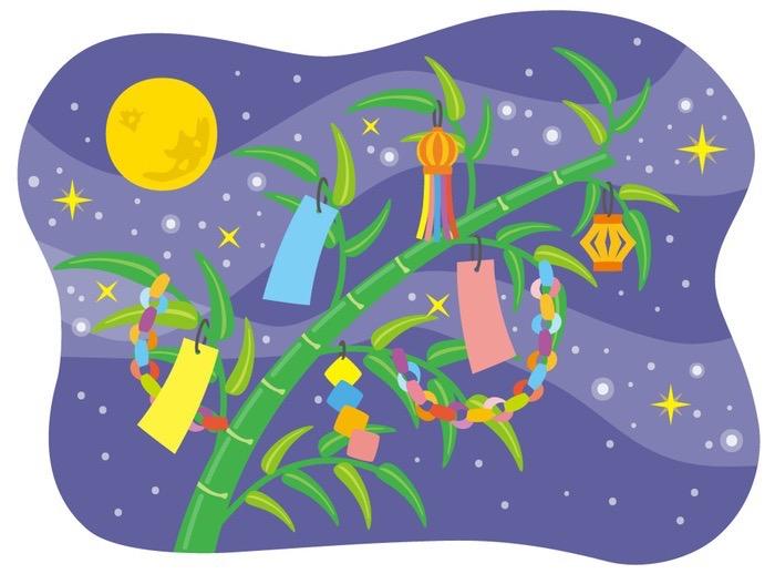 小郡市「七夕神社の夏祭り」七夕の里の伝統行事 七夕飾りや祭り提灯