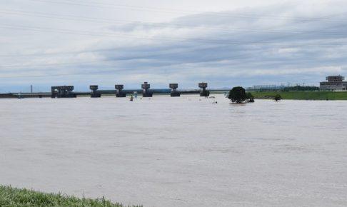 筑後川の今の状況 雨は止んでいますが夕方まで河川の増水に警戒【久留米市】
