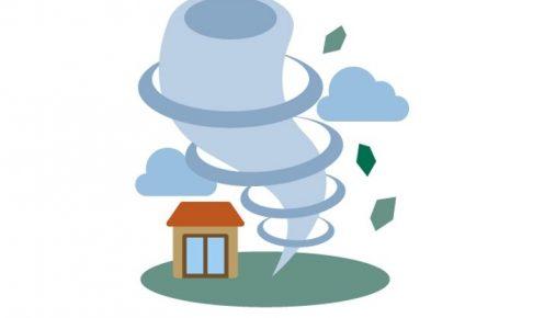 気象庁 筑後地方に竜巻注意情報 竜巻などの激しい突風が発生するおそれ