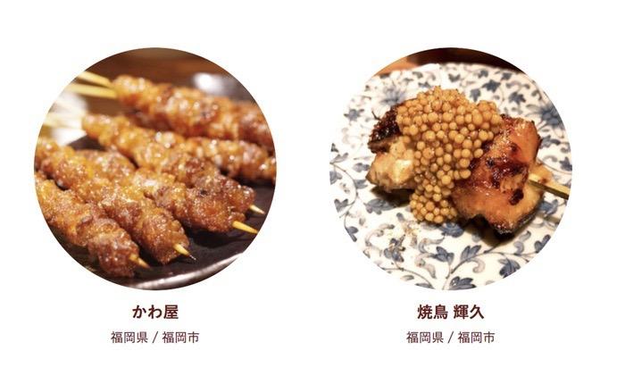食べログ 焼鳥 百名店 2018に入った福岡県 2店