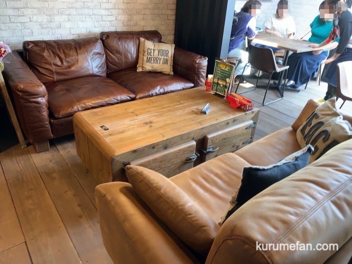 Cafe Style 店内 ソファー席