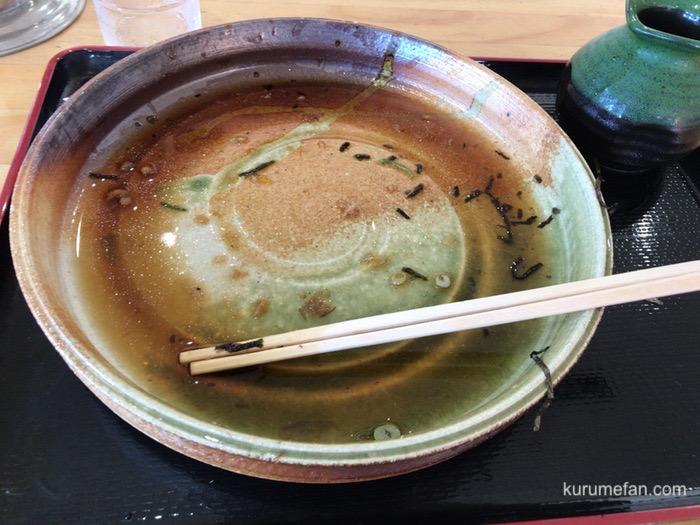 大地のうどん 久留米店 野菜天ぶっかけ 麺