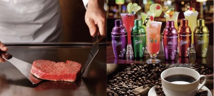 カフェ&バー デュランと本格鉄板焼き専門店がホテルイルファーロ久留米内に先行オープン