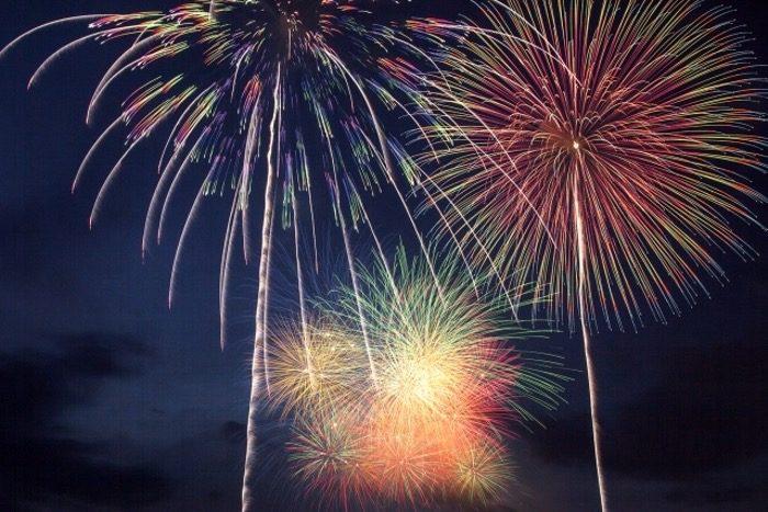第4回 八女のまつり 光と音楽の花火大会 約2,000発の花火