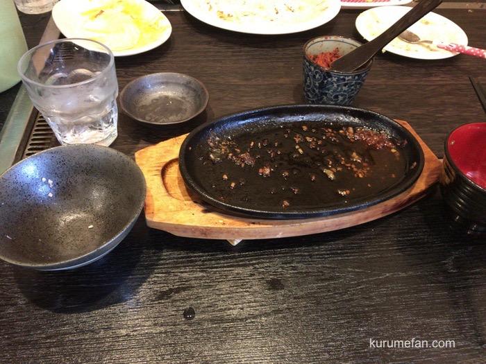 お好み焼き・鉄板焼き 磯六 元祖てこまる 完食