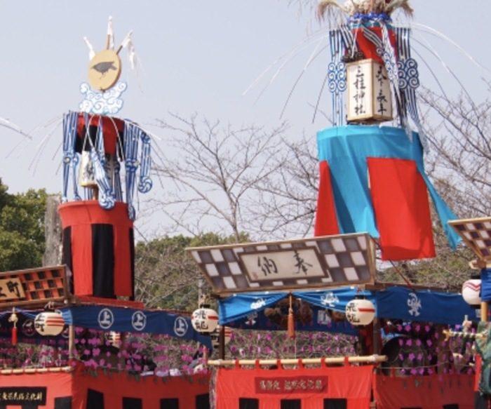 おにぎえ(三柱神社秋季大祭)囃子山車「どろつくどん」が練り歩く【柳川市】