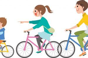 柿狩り サイクリング 耳納連山を眺めながらサイクリング【久留米市】