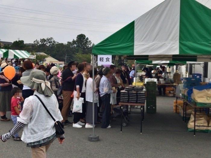 オーレック祭り 軽食コーナー