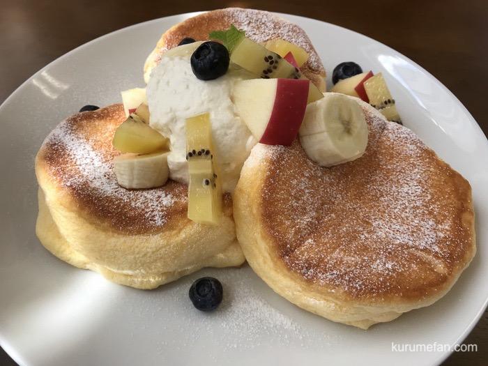 恋CAFE 恋するパンケーキ(フレッシュフルーツ)
