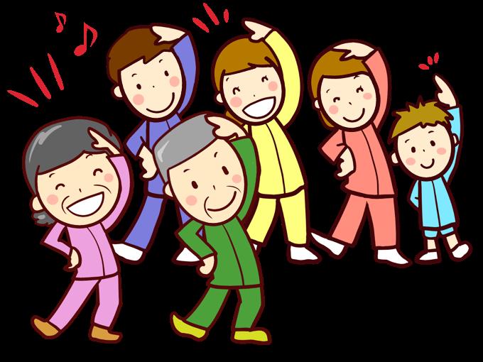 久留米市「ラジオ体操講習会」久留米アリーナ1階 武道場で開催