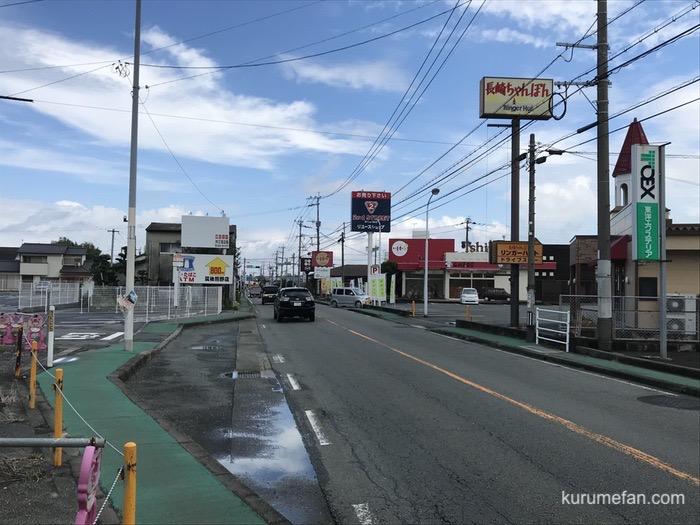 天ぷらまき 筑後店 新築工事 国道209号線沿い