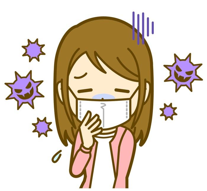 久留米市荒木中学校 インフルエンザによる学級閉鎖 今季初
