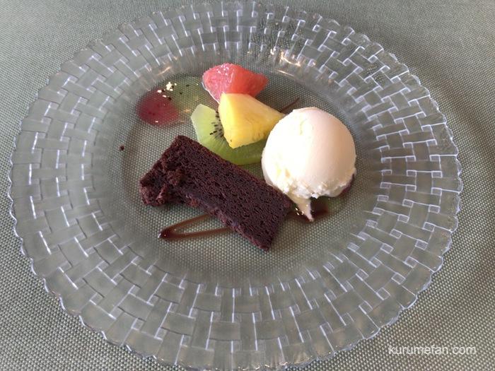 Cocon カフェプレートのデザート
