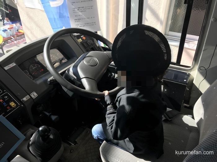 あきない祭り バス運転士体験