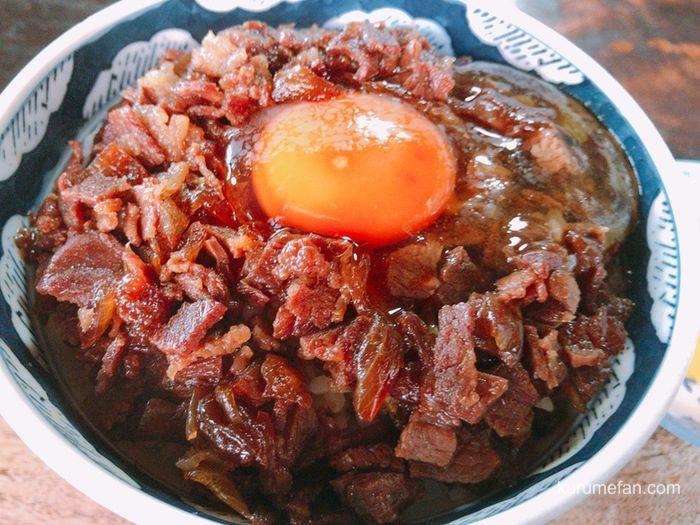 松尾食堂 肉丼が美味い!長年愛される久留米の老舗食堂