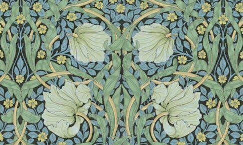 サンダーソンアーカイブ ウィリアム・モリスと英国の壁紙展 久留米市美術館