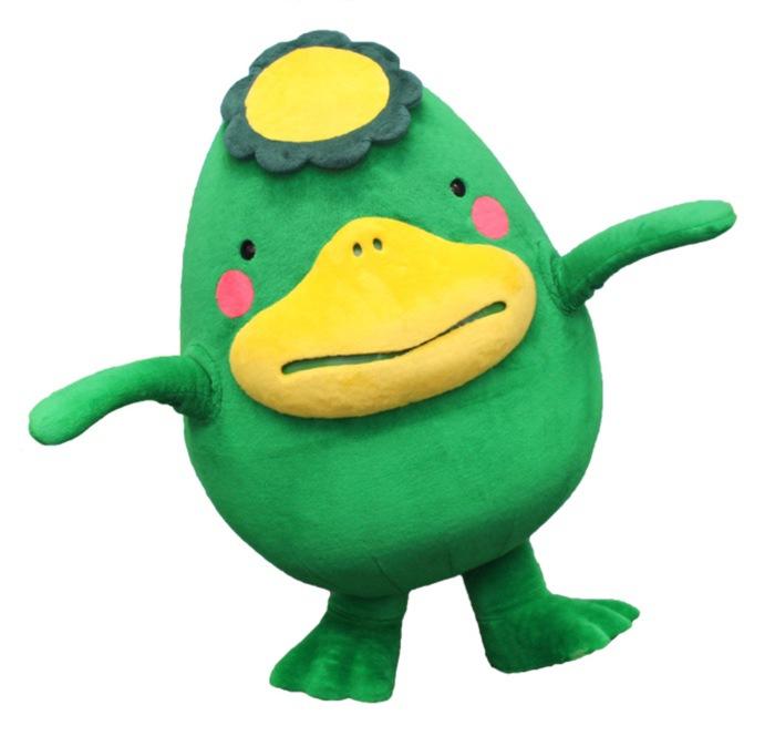 久留米市イメージキャラクター「くるっぱ」