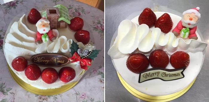 フランス菓子 グランシェフ クリスマスケーキ