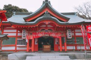 大学稲荷神社 冬籠祭 今年一年の厄を払い身心をリセットする祭