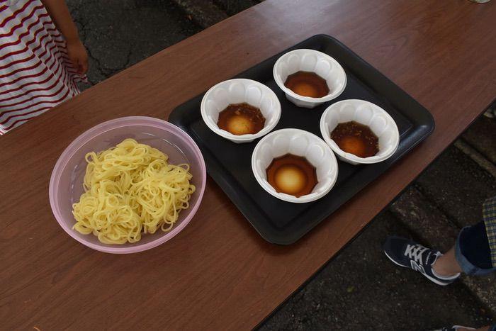 田中製麺 夏 冷やしつけらーめんの試食