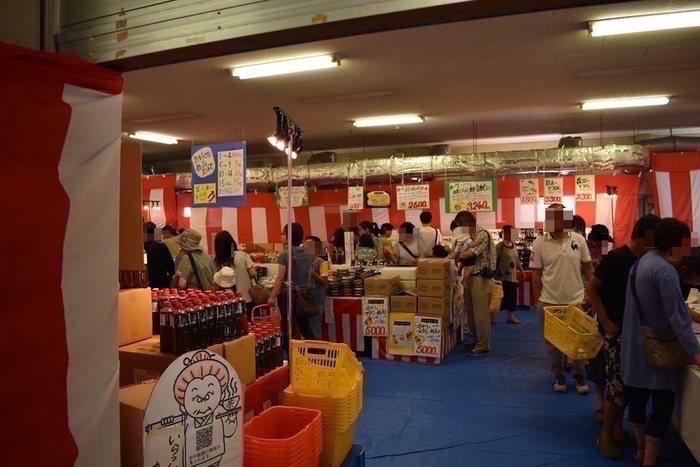 田中製麺 夏 販売コーナー