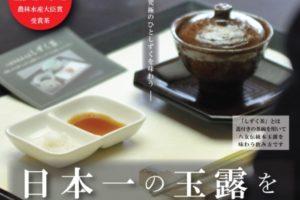 日本一の玉露をしずく茶で味わう茶席 八女市星野村 茶の文化館