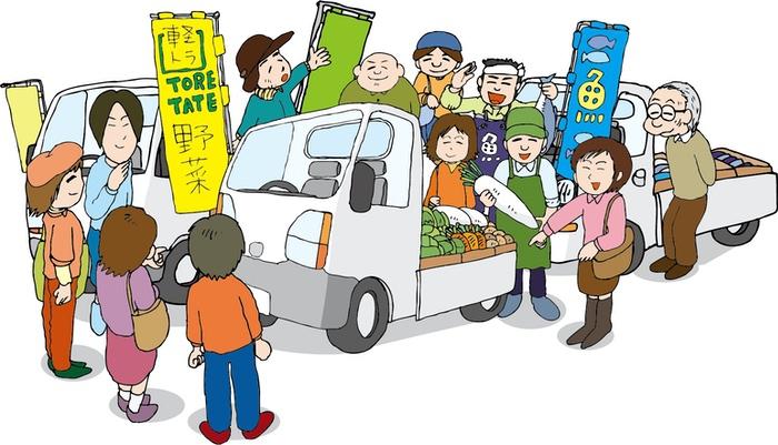 吉野ヶ里夢ロマン軽トラ市 115店が出店!獅子舞も登場