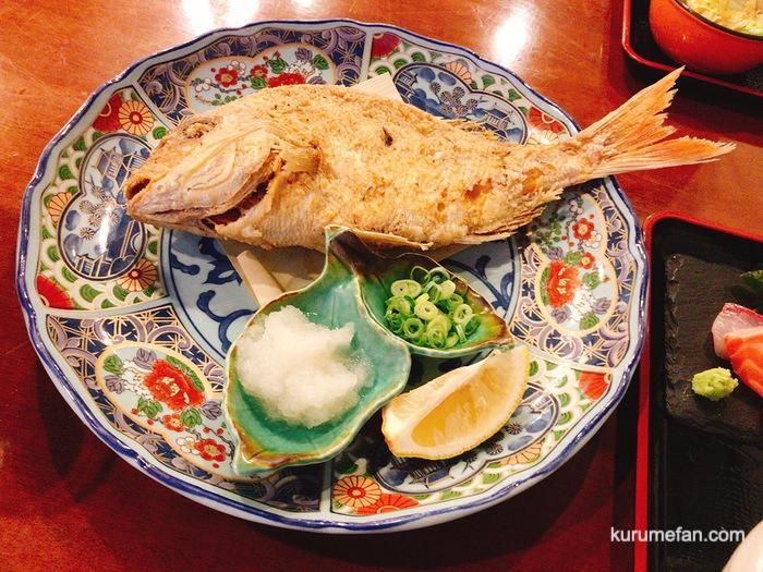MARUGOTO(まるごと)鮮魚定食の「唐揚げ」