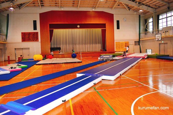 久留米市安武小学校体育館 自主練習場 大人や子どもも楽しめるスポット!